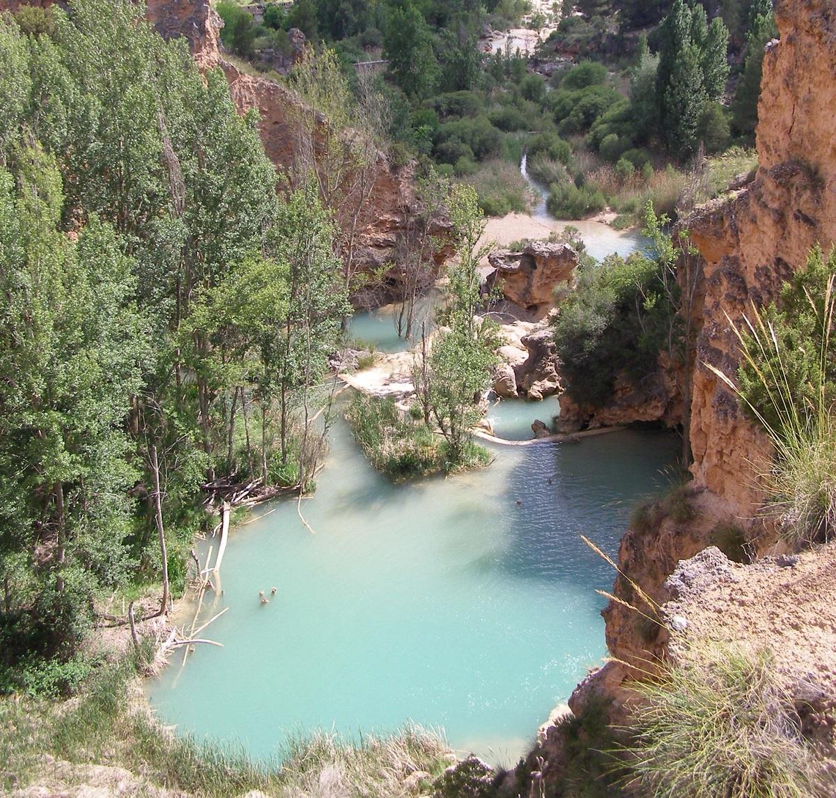 Piscinas naturales en Cuenca